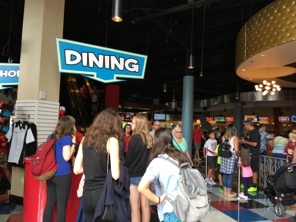 Splitsville Dining, Disney Spring, Orlando