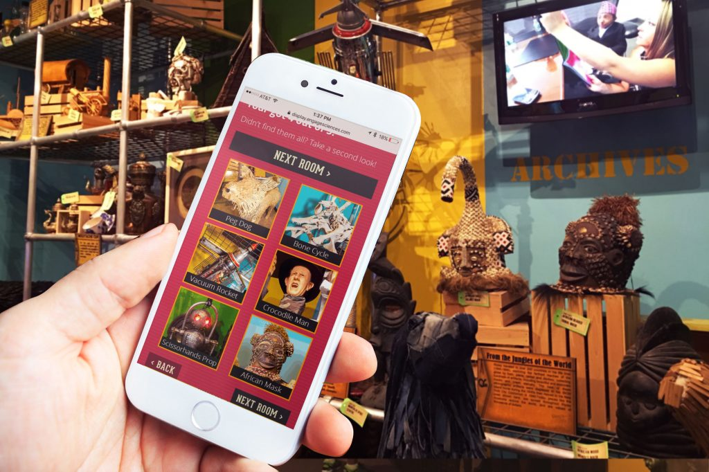 Scavenger Hunt with Ripley's Mobile Challenge