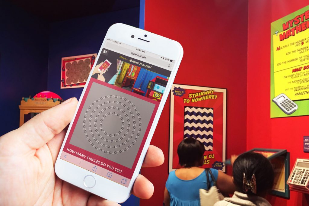 Optical Illusions in Ripley's Mobile Challenge